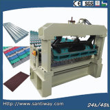 High Quality Metal Cold Roll Forming Machine for Roof Tile