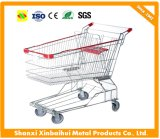 Customized Trolley Shopping Cart Luggage Cart with Strong Frame