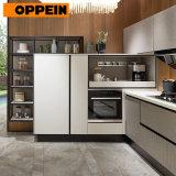 Oppein Modern Design Fitted Kitchen Whole Set Kitchen Cabinet