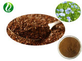 100% Natural Flax Seed Extract Powder Sdg / Linum Seed Powder