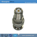 RF Connector Adaptor BNC Male Plug to Mini Female Jack