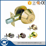 Two Ends Tubular Lever with Lock Sliding Door Handle Lock