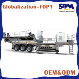 Mining Processing Equipment Mobile Jaw Crushing Station