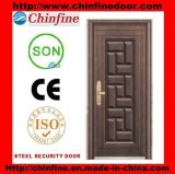 India Market Cheap Safety Entrance Steel Door (CF-676)