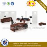 Lecong Market Wooden Black Color Office Table (HX-UN001)