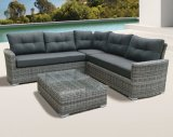 Modern Garden Patio Leisure Home Office Hotel Lounge Outdoor Rattan Furniture (J546-POL)