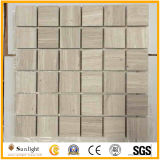 Wooden White Marble Mosaic Wall/Bathroom Tiles