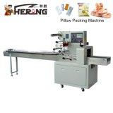 Hero Brand Soft Cake Strawberry Mayonnaise Pie Automatic Plastic Bottle Cap Wraping Tablet Rotary Pillow Pack Machine