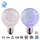 Top Quality Copper Filament LED Bulb with Red Blue Green Colors Office Recommended Decorated Light Lamp Wholesale Price for Global Distributor 2700K RGB-G80