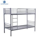 School Dormitory Storage Double Layers Twin Bed Metal Steel Bunk Beds