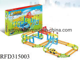 DIY Colorful Educational Assembly Electric Slot Car