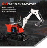 Cheap New Garden Use 0.8 Ton China Crawler Mini Excavator