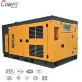 Diesel engine driven 300psi 33m3 two stage mobile screw air compressor for water well drilling rig