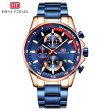 Mini Focus Wrist Watches Multifunction Chronograph Watches China, Stainless Steel Band