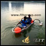 Transparent Double Seat Canoe Kayak