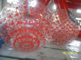 2.6m Dia TPU Human Sized Hamster Ball Inflatable Zorbing Ball with Logo Customized (FLSB)