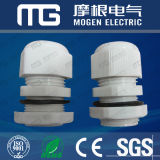 Ral7001 Pg Mg M Nylon Waterproof PA 66 Cable Glands with Rubber Seal and Nut