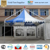 Wholesale Small White and Blue Caravan Marquee Wedding Tent