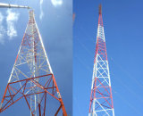 Galvanized Angle Steel Lattice Telecommunication Tower