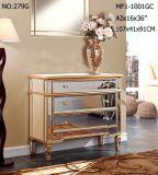 Modern Living Mirrored Furniture Drawer Cabinet
