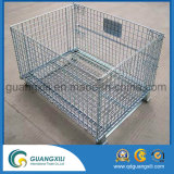 Folding Warehouse Storage Cage in Store