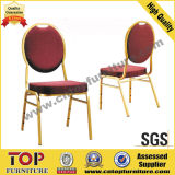Round Back Steel Banquet Stackable Chair