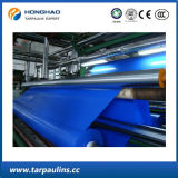 Heavy Duty Waterproof PVC Coated Tarpaulin Fabric Greige Roll