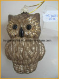 Hanging Owl Shaped Christmas Ornaments