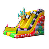 Hot Sale 6mh Fire Dragon Inflatable Slide for Children Chsl463