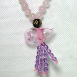 Handmade Elegant Bracelet/Necklace with Aroma Oil Bottle