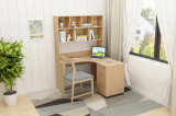 Used Computer Desk with Bookcase Modern Design Office Table Student Study Table Home Furniture