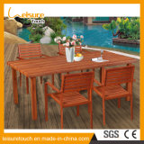 All Weather Children Table and Chairs Set Modern Outdoor Garden Patio Aluminum Wooden Furniture