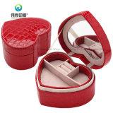 Heart Shape PU Leather Packaging Jewellry Box
