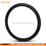 7-Tiger High Quality Road Bike Racing Rim 50mm Carbon Clincher 700c Rims