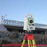 350m Reflectorless Total Station High Precision Surveying Instrument for Construction Surveying & Layout with SD Card, USB Port