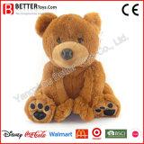 Promotion Gift Stuffed Animal Cuddly Seated Teddy Bear Soft Plush Baby Toy Doll