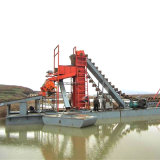 Electric Power Capacity 60m3/H Dredging Depth 7m River Mining Gold and Diamond Equipment for Gold and Diamond