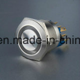 22mm Stainless Steel Anti Vandal Push Button Switch (L22-F-M1-S-R)