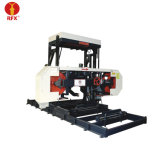 Mj3708 Computer Controlled Woodworking Mobile Saw Mill Machinery