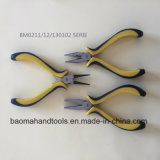 """4.5""""Euro Type Mini Long Nose Pliers with Colorful Handle"""
