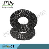 11.5mm Rubber Coated Diamond Wire Saw for Stone Quarry Reinforce Concrete Cutting