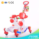 Eco-Friendly Plastic Rocking Horse Toy / Rocking Horse with Wheels