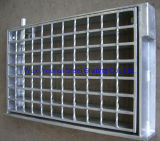 Drain Metal Floor Hot DIP Galvanized Antislip Bar Steel Grating Weight
