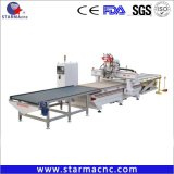 Auto Load and Unload Atc CNC Router Panel Furniture Production Line