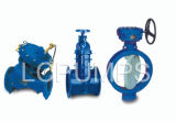 Double-Eccentric Sealing Butterfly Gate Foot Valve Products
