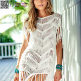 Women's Fashion Sleeveless Cover up Summer Crochet Beach Dress L38475