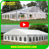 White or Clear Transparent Roof Wedding Party Event Marquee Tent Canopy for 100 200 300 500 600 800 1000 1500 2000 People Seater Guest