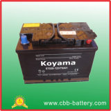 European Type Acid Battery Car Battery DIN 57028 12V 70ah
