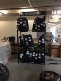Metal Adjustable Tyre Display Rack for Tire Shop