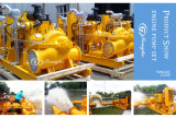 Trailer Mounted Flood Control Diesel Engine Self Priming Water Pump